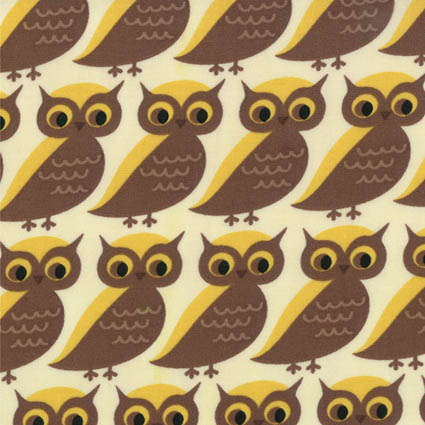 Moda owl fabric