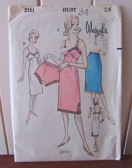 Weigel's 2151 vintage sewing pattern